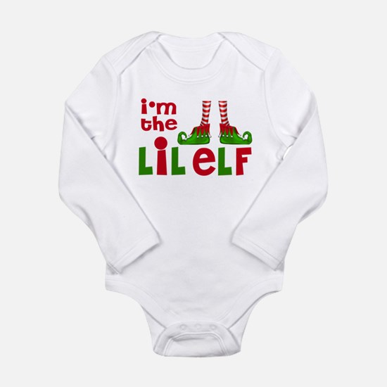 Little Elf Christmas Body Suit
