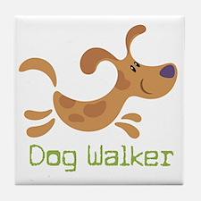 DogWalker Tile Coaster