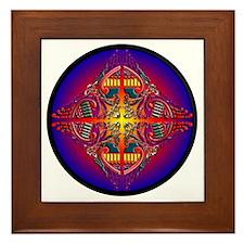 Infinity Phoenix Sunrise Framed Tile