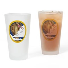 39th FS patch Drinking Glass
