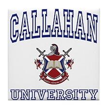 CALLAHAN University Tile Coaster