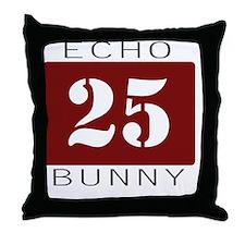 echobunny Throw Pillow