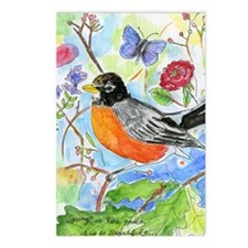 bird024 Postcards (Package of 8)