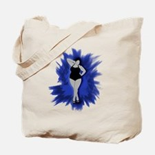 sexiness burst blue Tote Bag