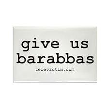 """""""barrabas"""" Rectangle Magnet (10 pack)"""