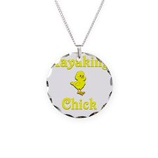 Kayaking Chick Necklace