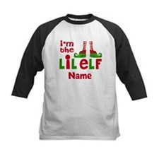 Little Elf Christmas Baseball Jersey