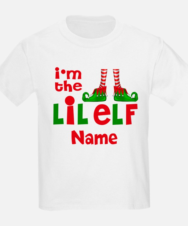Little Elf Christmas T-Shirt