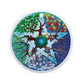 Pagan Round Ornaments