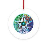 Pagan Round Ornaments
