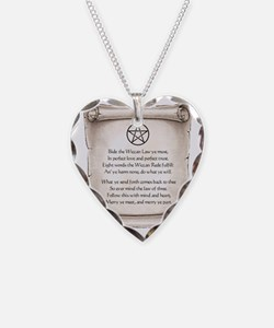 rede-wicca Necklace Heart Charm