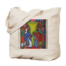 Ethiopian orthodox Queen of Saba Icon Tote Bag