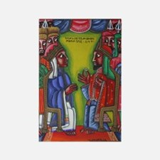 Ethiopian orthodox Queen of Saba  Rectangle Magnet