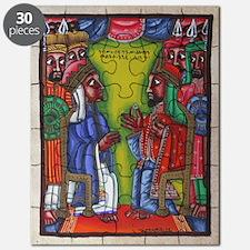 Ethiopian orthodox Queen of Saba Icon Puzzle