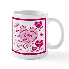 Love in Many Languages Mug