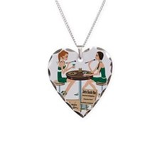 Jets Sushi Girls Necklace Heart Charm