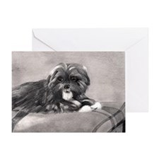 PeekAPoo Dog Greeting Cards