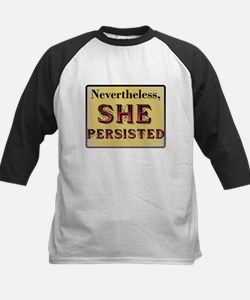 Nevertheless #ShePersisted Baseball Jersey