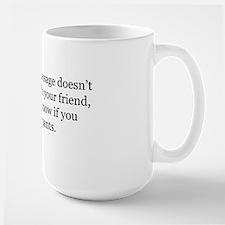 message pants 2 Mug