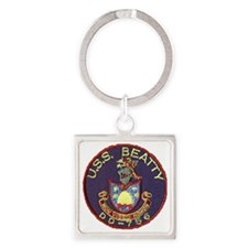 beatty patch Square Keychain