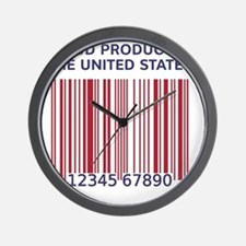 Barcode United States Wall Clock