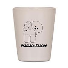 Bratpack1 Shot Glass