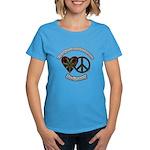 Tie Dye Art Be Groovy Women's Dark T-Shirt