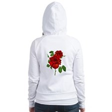 Rose Red Fitted Hoodie