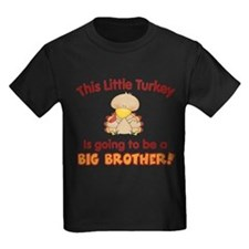 Little Turkey Big Brother T-Shirt