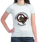 Tie Dye Art Jr. Ringer T-Shirt