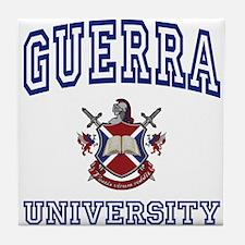 GUERRA University Tile Coaster