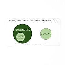 2011-01-06-0001 Aluminum License Plate