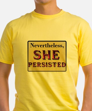 Nevertheless #ShePersisted T-Shirt