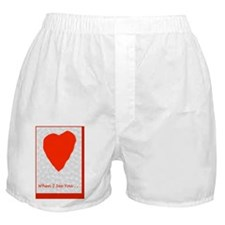 Funny Love Romance Valentine For Swee Boxer Shorts