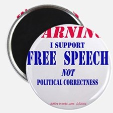FreeSpeechWarning Magnet