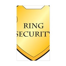 Ring Security Decal
