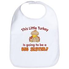 little turkey big sister Bib