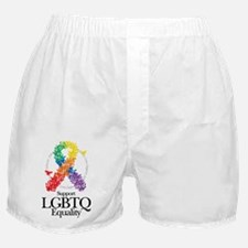 LGBTQ-Butterfly-Ribbon Boxer Shorts