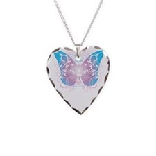 Transgender-Butterfly-A-blk Necklace