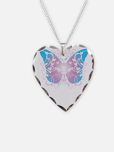 Transgender-Butterfly-A-blk Necklace