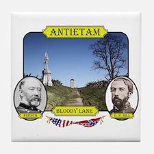 Antietam-Bloody Lane Tile Coaster