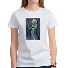 Green Tara T-shirt for women (white)