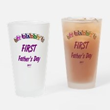 fathersfirst2011 Drinking Glass