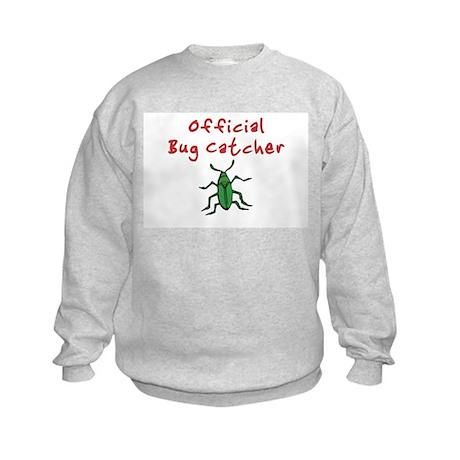 Official Bug Catcher Kids Sweatshirt