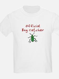 Official Bug Catcher Kids T-Shirt