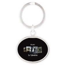 index Oval Keychain