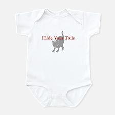 Hide Your Tails (Cat) Infant Bodysuit