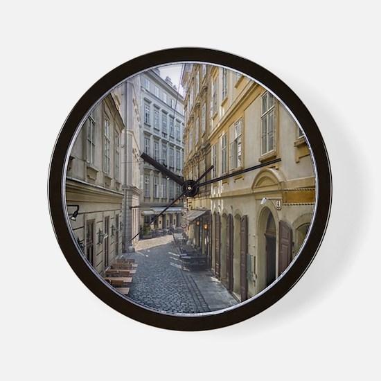 Wien Vienna City Wall Clock