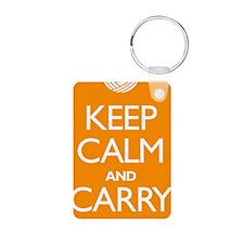 2-journalorange Keychains