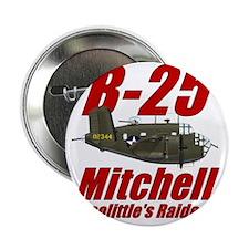 """B25 Doolittes RaidersTee 2.25"""" Button"""